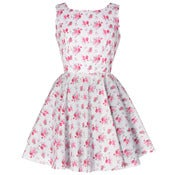 Image of ON SALE!  Vintage Inspired Rose Print Dress