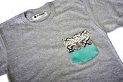 Image of LIV WEALTHY PYTHON SNAKESKIN T-SHIRT MIXED IV
