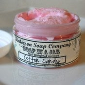 Image of Cotton Candy (4 oz. jar) Soap In A Jar (Fluffy Whipp) (Vegan)