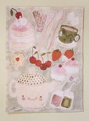 Image of Afternoon tea teatowel