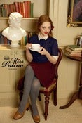 Image of Champagne Ruffles Blouse (navy)