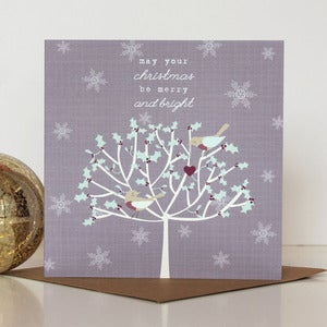 Image of Whimsical Christmas Tree Card