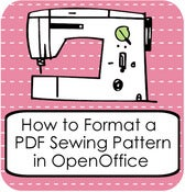 Image of How to Format a PDF Pattern in OpenOffice Writer