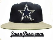 Image of Vintage Deadstock Dallas Cowboys Sports Specialties Logo Snapback Hat Cap