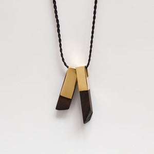 Image of Mod Canopy Necklace Gold