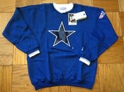 Image of Vintage Deadstock Dallas Cowboys Starter Crewneck Sweatshirt Jumper