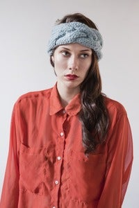 Image of as seen in VOGUE limited simcoe braided  headband (more colours available)