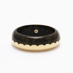 Image of Donut Bangle | Tortoiseshell & Golden