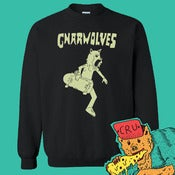 Image of Gnarwolves - CRU-neck Sweatshirt (add CD for £2)