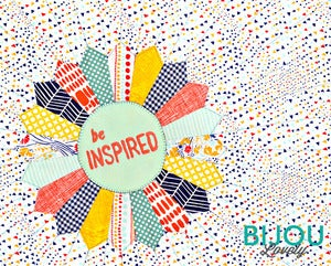 Image of Be Inspired Quilt 8x10 Print