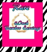 Image of ♡Rare 4inch Bamboo earrings♡