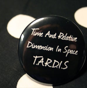 Image of Scripty TARDIS Button