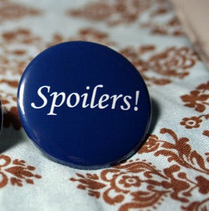 "Image of Whovian: Spoilers 1.5"" Pin"