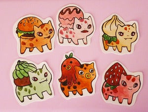 Image of bulba buffet stickers