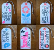 Image of Your choice of any 5 gift tags