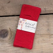 Image of Original Wrist Worms, Merino Wool, Red