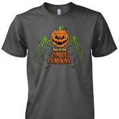 Image of Age of the Zombie Pumpkins! T-Shirt (Unisex)