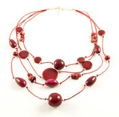Image of Fiesta Necklace Red