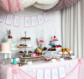 Image of Let them Eat Cake- printable Marie Antoinette Bridal Shower