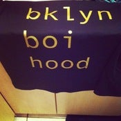 Image of custom bklyn boihood t-shirt 