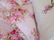 Image of Evie Pretty Pink Clusters With Frills or Piped edge!