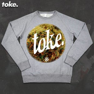 Image of Toke - Circle BUD - Sweatshirt