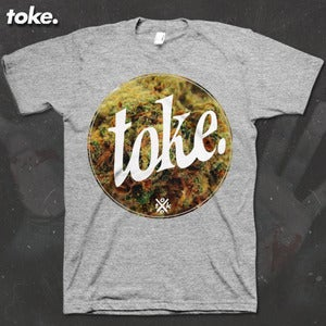 Image of Toke - Circle BUD - Tee