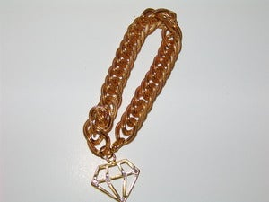 Image of Golden Diamond Bracelet