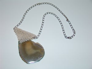 Image of Pearl Agate Necklace