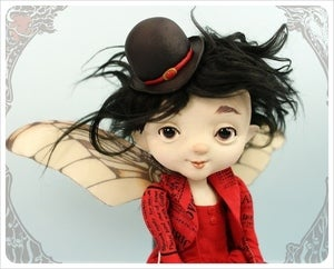 Image of SOLD! - Danda - Scarlet Fairy Foreigner by the Filigree