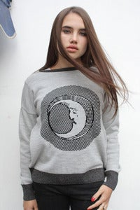 Image of MOON FACE knitted jersey