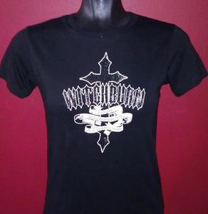 Image of Ladies Cross Design T-Shirt