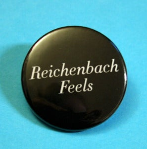 Image of Sherlocked Reichenbach or Richard Brook Badge