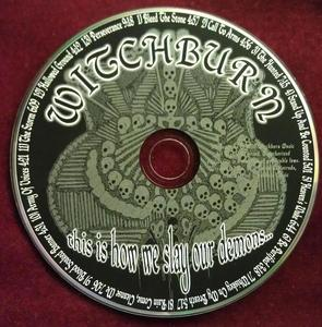Image of WITCHBURN CD - This Is How We Slay Our Demons...