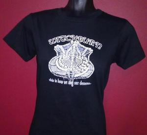 Image of Ladies Shield of Bones T-Shirt