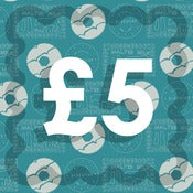 Image of £5 Gift Voucher