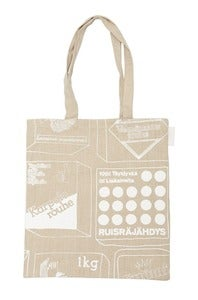 Image of Kauppareissu canvas bag small |<br /> Kauppareissu-kangaskassi, pieni