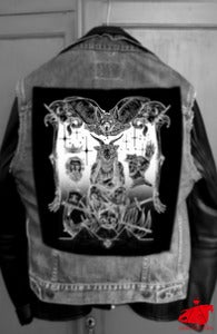 Image of BACK PATCH - RISE OF EVIL - SOLD OUT