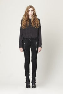 Image of BLACK DIAMOND SKINNY PANTS