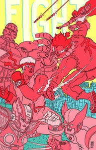 Image of Fight! A zine about fighting games
