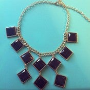 Image of &quot;Don't Be A Square&quot; Geometric Statement Necklace