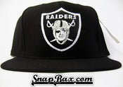 Image of Vintage Deadstock LA Los Angeles Raiders American Needle Snapback Hat Cap