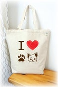Image of I love Chihuahua Tote