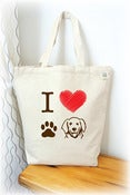 Image of I love Lab Tote