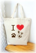 Image of I love Scottie Tote