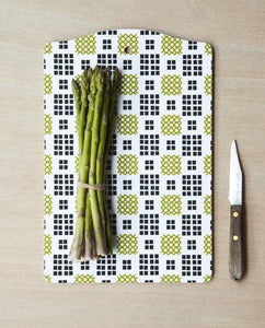 Image of blanket pattern cutting board 