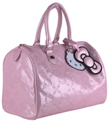 Image of Hello Kitty Embossed City Bag