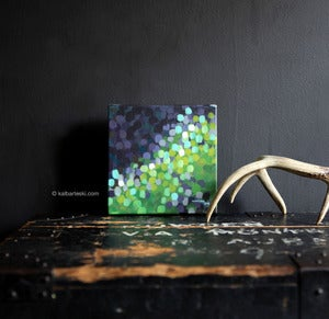 Image of Bokeh: GREEN NO.1 painting