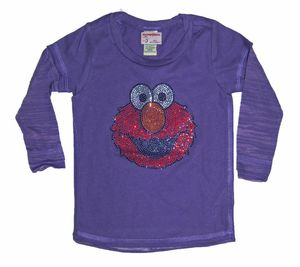 Image of Rhinestone Elmo Tee