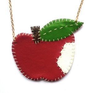 Image of Big Apple Necklace